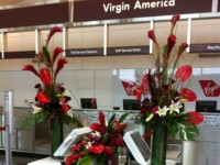 Virgin America Opening Day At DCA