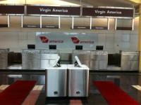 Virgin Dca Ticket Line And Kiosk