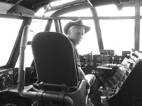 VP – D.Scott Macrae At The Controls Of Spruce Goose