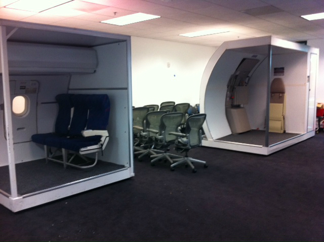 VX Emergency Egress Trainers Installed At SFO