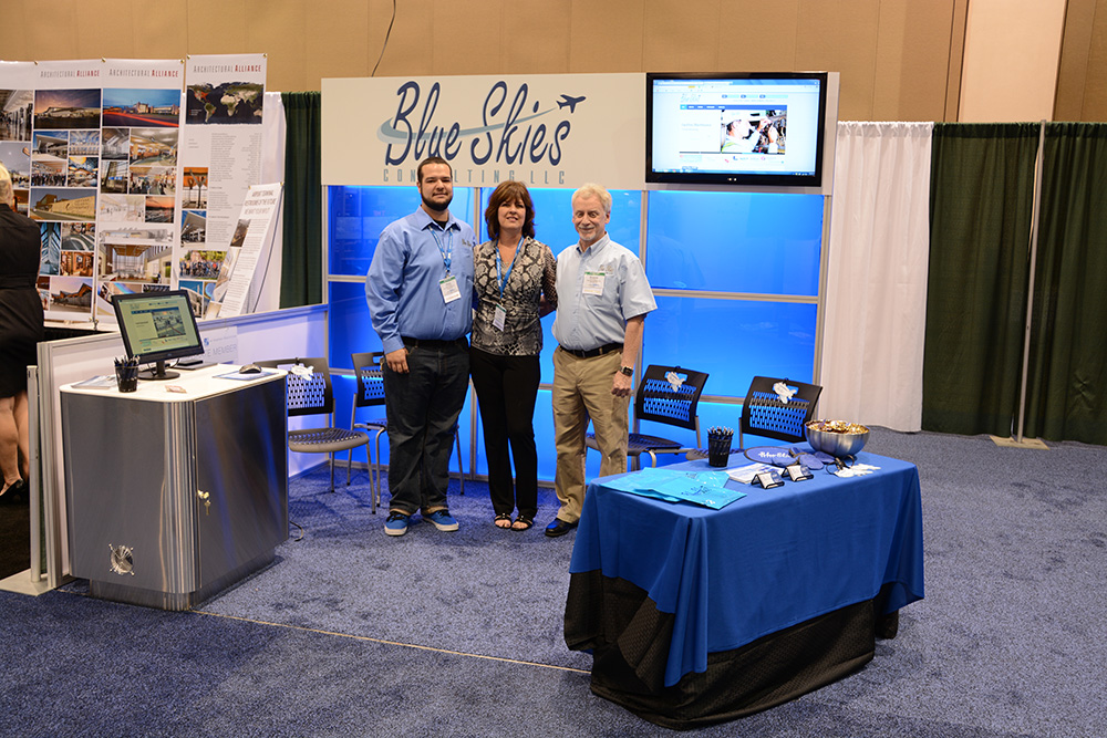 Blue Skies Consulting Booth At 85th AAAE