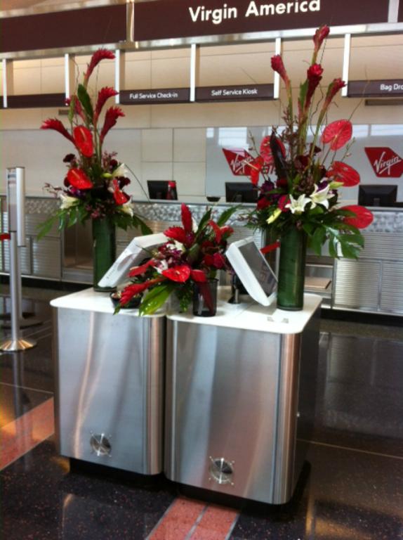 Virgin America Opening Day At DCA