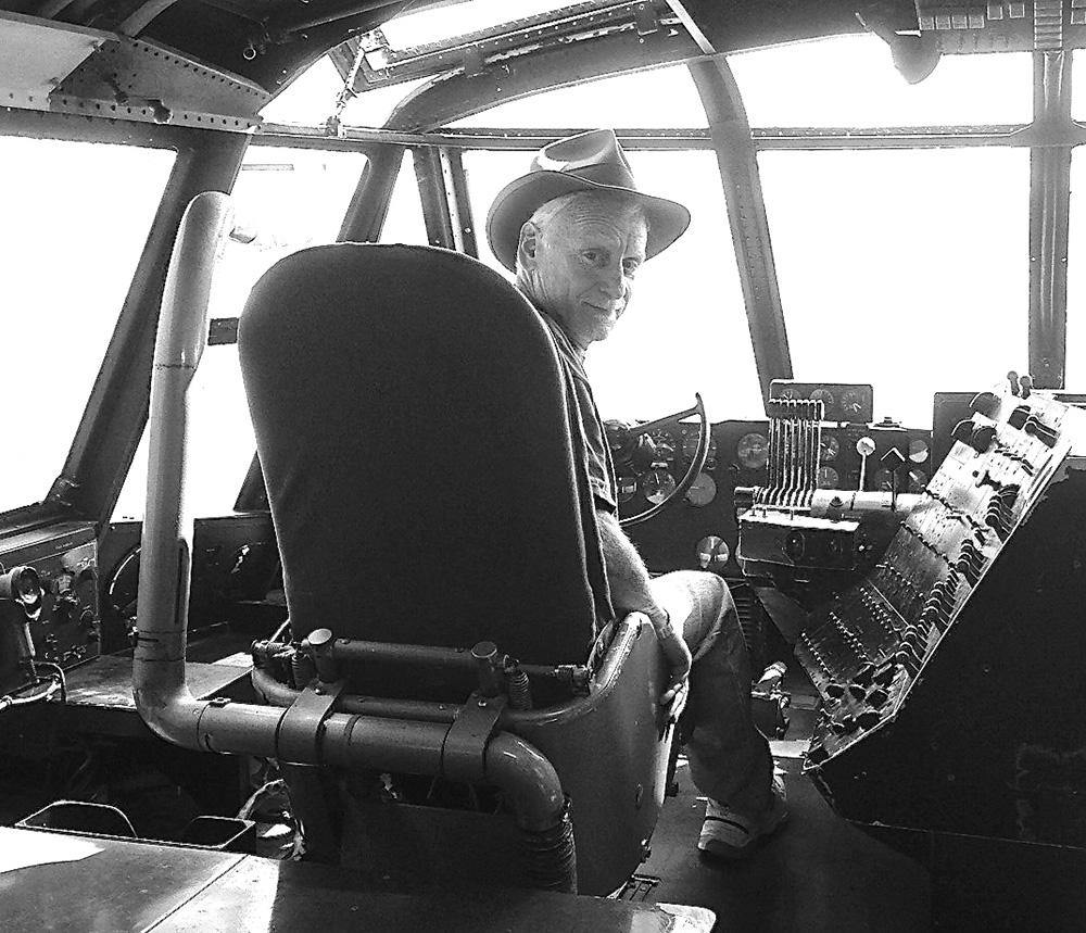 VP - D.Scott Macrae At The Controls Of Spruce Goose