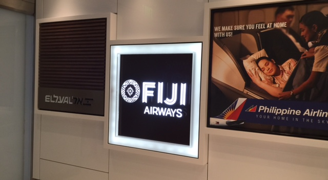 FIJI Airlines Executive Lounge at Los Angeles International Airport